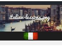 ITALIAN PRIVATE LESSONS