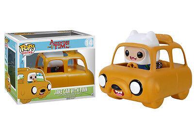 Funko Pop Rides  Adventure Time Jake Car With Finn