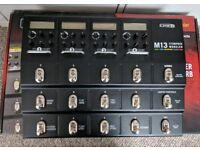 Line 6 M13 guitar stompbox pedal modeler