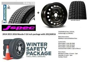 2014 2015 2016 2017 2018 Mazda 3 hyundai Elantra winter rims n tire package $550