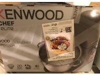 Kenwood elite mixer (brand new)
