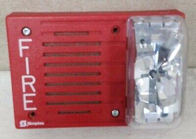 Simplex 4903-9219 Hornstrobe Red 24vdc 15cd