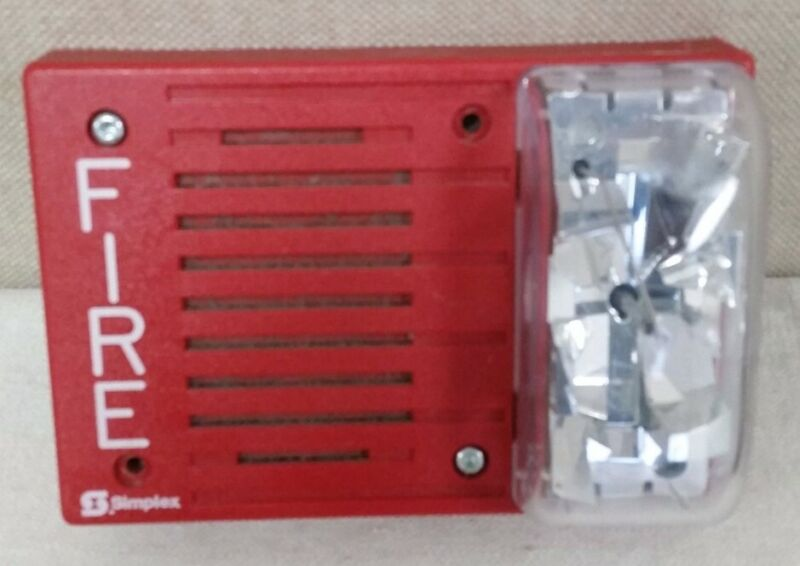 Simplex 4903-9219 Horn/Strobe Red 24VDC 15cd