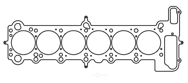 Cometic C4329-140 MLS 87mm Head Gasket for BMW S50B30 3.0L//S52B32 3.2L Engines