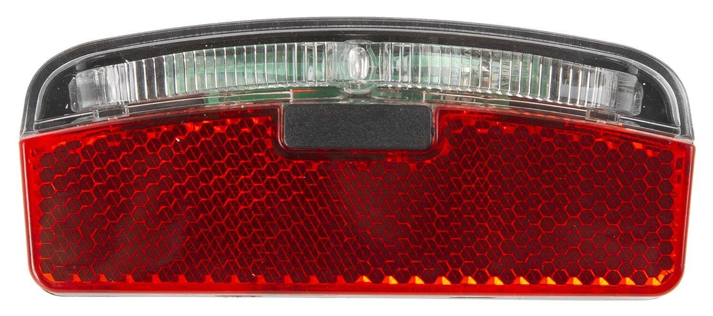 Fahrrad LED Rücklicht für Dynamo mit Reflektor rot Gepäckträger