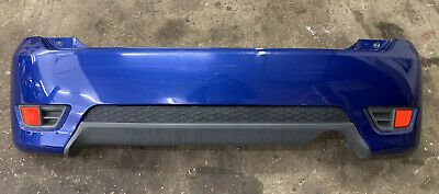Genuine Ford Fiesta ST150 Mk6, Complete Rear Bumper, In Performance Blue - Used