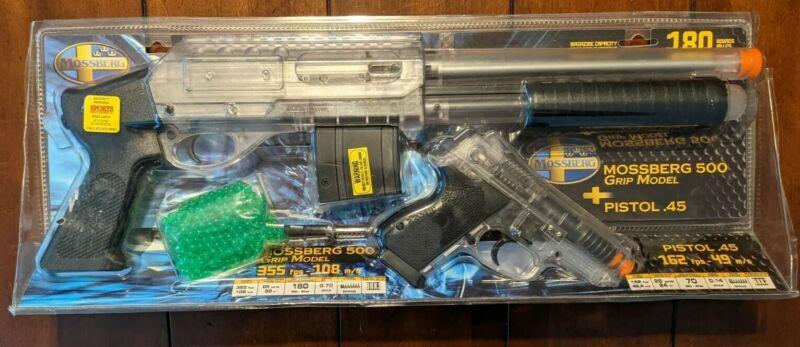 Mossberg Airsoft Tactical Kit Air Gun Shotgun and Pistol Set, brand New