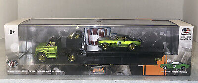 M2 Auto Hauler 1967 Chevrolet C 60 Truck & 1968 Chevrolet Camaro SS 350 Chase