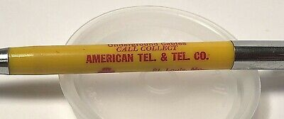 Vtg Mechanical Pencil ~ Bell System ~ American Tel & Tel Co AT&T ~ St Louis MO