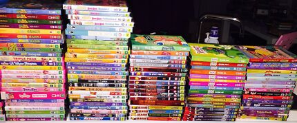 BULK KIDS DVDS R4 RESELLERS LOOK NO FURTHER CHARLEY RAA RAA 1000 DVDs  Mickleham Hume Area Preview