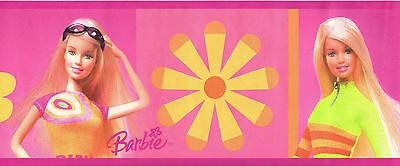 Barbie summer barbie wallpaper border lk67101 voltagebd Choice Image