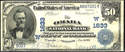 Click now to see the BUY IT NOW Price! 1902 $50 FR 668 LARGE SIZE NATIONAL THIRD CHARTER DATE BACK CHARTER  1633 OMA