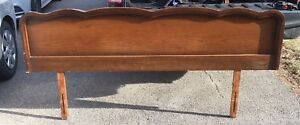 Vintage French Provincial King Size Viscol Headboard