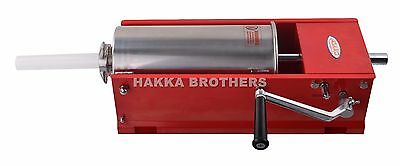 Hakka 5L/11LB Sausage Stuffer 2 Speeds Horizontal Meat Fillers CH5