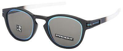 Oakley Latch Sunglasses OO9265-3553 Matte Black Fade | Prizm Grey Lens | BNIB