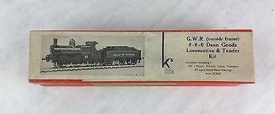 K's KEYSER Tender kit  Dean GWR 0-6-0 MOGUL Train Locomotive
