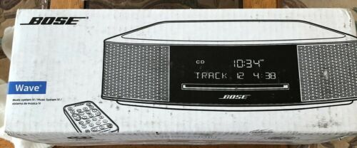 Bose Wave Music System IV - Remote, CD Player, Radio  - black with Bluetooth New