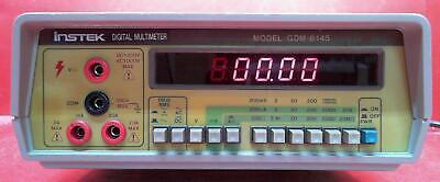 Instekgw Gdm-8145 9600278 Bench Digital Multimeter