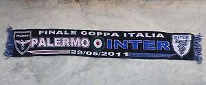 SCIARPA-FINALE-PALERMO-INTER-2010-11-COPPA-ITALIA-TIM-CUP-SCARF-FINAL-no-maglia