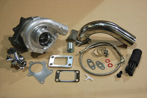 T3-T4-Turbocharger-Kit-T3-T4-Turbo-Downpipe-BOV-Braided-Stainless-Feed