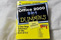 Microsoft Office 2000 for Dummies - desk reference