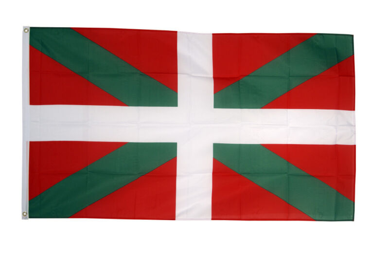 Basque Country Flag Large 5 x 3