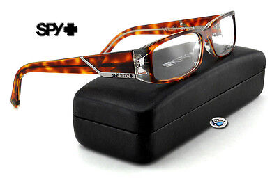 New Spy Optic VOLGA Rx Eyeglasses | Tortoise with Shiny Gunmetal / Demo Lens