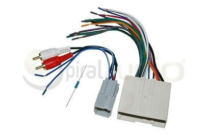 Antenna AC2S AMP Wire Harness Radio Dash Kit Combo 2DIN SWC Interface