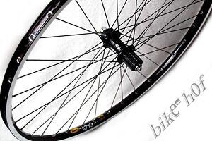 28-29-Bici-senza-pedali-Ruota-posteriore-Shimano-XT-Mavic-A719-nero