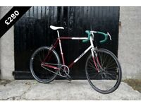 Raleigh Winner bespoke single speed (Single Speed Edinburgh)