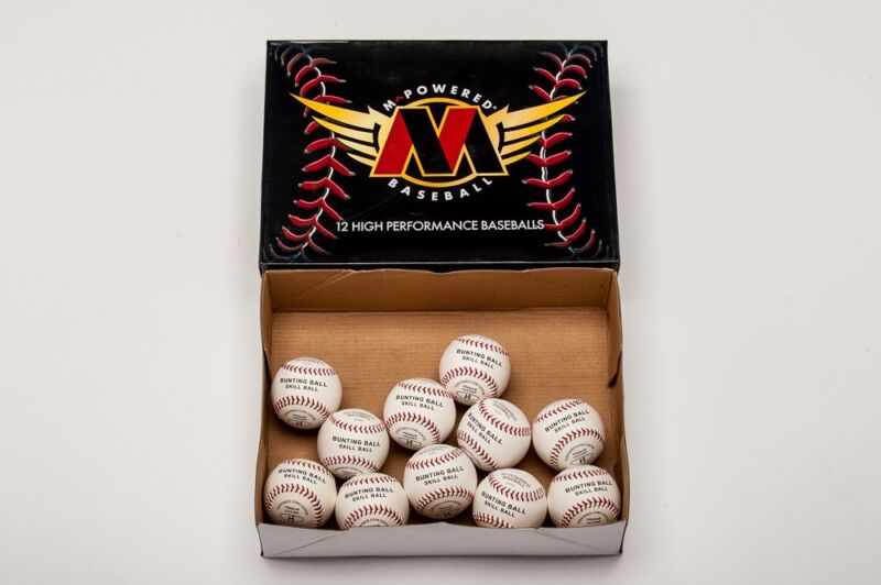 """TWO DOZEN ALL LEATHER SKILL AND DEVELOPMENT 7.5"""" BASEBALL-GREAT FOR TRAINING!"""