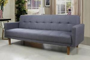 Tufted Fabric Sofa Bed (TI10)