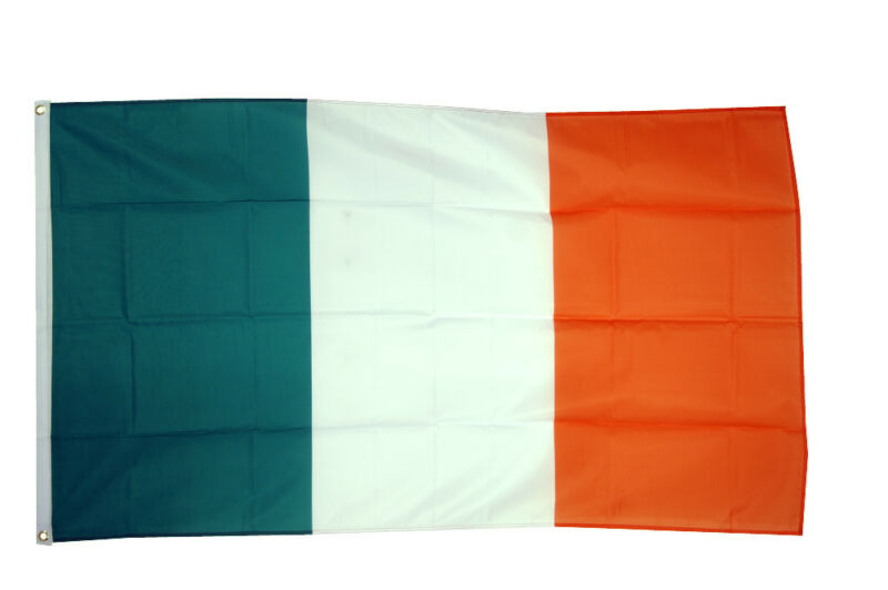 IRELAND GIANT FLAG 8 x 5 FT -  Massive Huge Irish Eire St Patrick