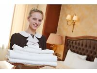 Housekeeping / Room Attendant / Chambermaid Job Position Immediate Start for experience Candidate