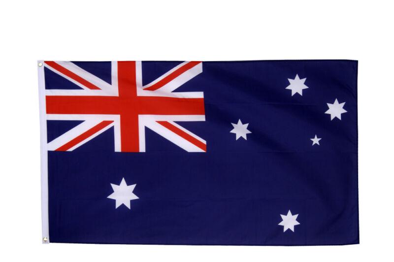 Australia Flag Large 5 x 3 FT - 100% Polyester - Australian Down Under Party Oz