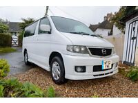 Adaptable and functional Mazda Bongo Friendee weekender conversion - superb condition - Awning