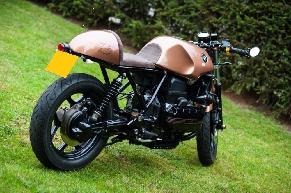 Bmw K100 Cafe Racer Tracker Custom Brat Style Bobber In