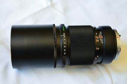Olympus 300mm f4.4 ZK Telephoto Lens