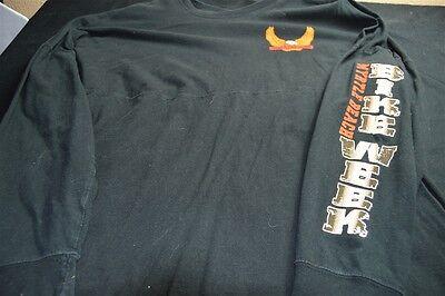 Myrtle Beach South Carolina Black Long Sleeve Bike Week Large Men's Shirt