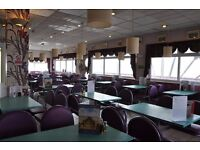 Job lot cafe restaurant diner seating tables and chairs