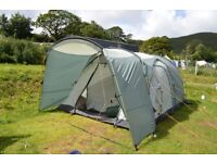 Icarus 500 Tent with Sun Canopy and Extras.