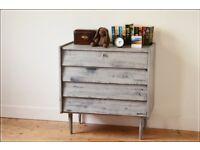 chest of drawers teak Frystrak G Plan style vintage danish