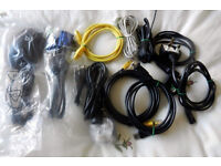 Large Joblot electrical Leads (Over 70 Items) Scart/Audio/Computer etc.