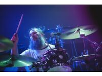 HIGHLY EXPERIENCED DRUMMER IMMEDIATELY AVAILABLE FOR WORK