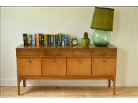 vintage sideboard teak Beautility mid century danish design made 1963 tv stand