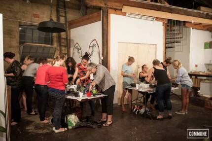 Workshop, Gallery, Exhibition, Networking & Event Space Erskineville Inner Sydney Preview