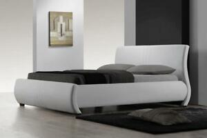 Curvy custom made Queen Bed (TI46)