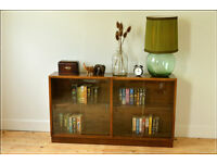 Vintage Mid Century Danish Teak Sideboard TV Stand Bookcase retro