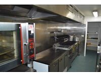 Flexible commercial kitchen for hire