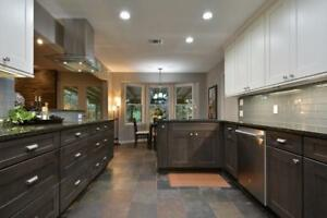 Custom Kitchen Renovations that will fit any budget! Kitchen,Basement,Custom closets,Vanities.we do it all! free quote